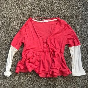 Free People Camelia Combo Top
